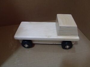 KAPLAN LEARNING COMPANY WOODEN FLATBED TOY TRUCK **NEW ...
