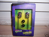 Sakar Tmnt Teenage Mutant Ninja Turtles Earbuds In Package