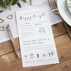 10 Wedding Advice Cards for the Happy Couple Words of Wisdom Wishes ...