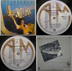 SUPERTRAMP BREAKFAST IN AMERICA 1979 PROMO UNIQ B&W BCK CVR! RARE CHILEAN PRESS!