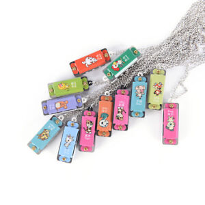 1pc-Mini-Durable-Metal-Harmonica-4-Hole-4-Tone-Necklace-random-color-ATCA