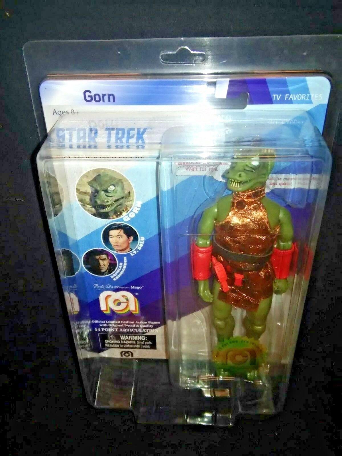 GORN Alien Warrior - Classic TV Star Trek 8  MEGO Action Figure  16   10000