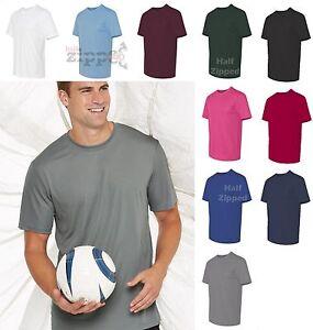 Hanes-Cool-Dri-Short-Sleeve-Performance-T-Shirt-4820-S-3XL-50-UPF-Dry-Fit-NEW