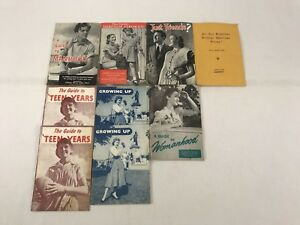 Vintage-Books-a-Guide-To-Manhood-a-Guide-To-Teen-Years-1960-Bulk-Lot