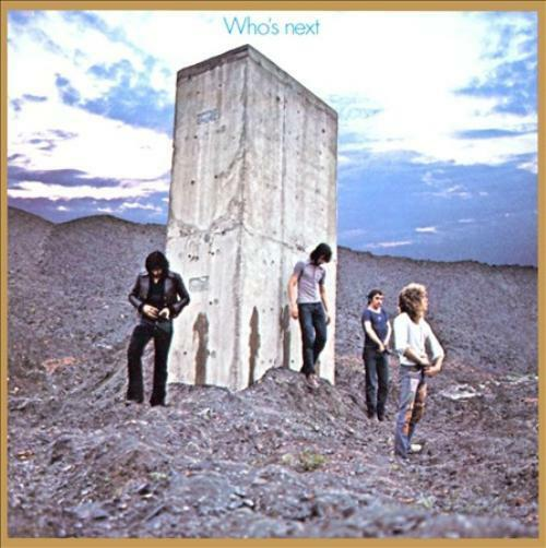 WHO, THE-THE WHO:WHOS NEXT NEW VINYL RECORD