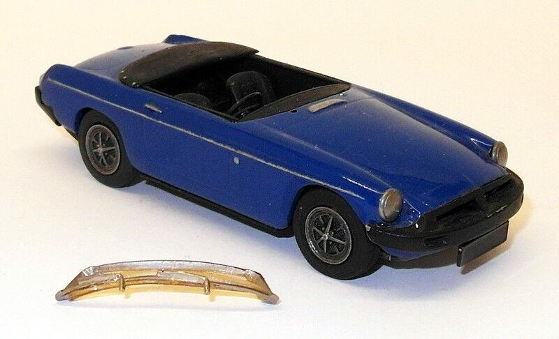 Venta en línea precio bajo descuento Ace Coche Kits Kits Kits 1 43 Scale Model Coche A78 - MGB blanco Metal Built Kit - azul  la mejor oferta de tienda online