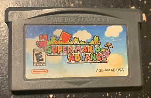 Super Mario Advance for Nintendo Game Boy Advance AGB-002, 2001, Works Great!