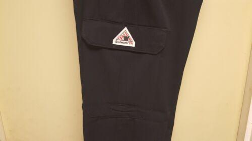 Bulwark FR Cargo Pants Navy Blue PMU2 Flame Resistant