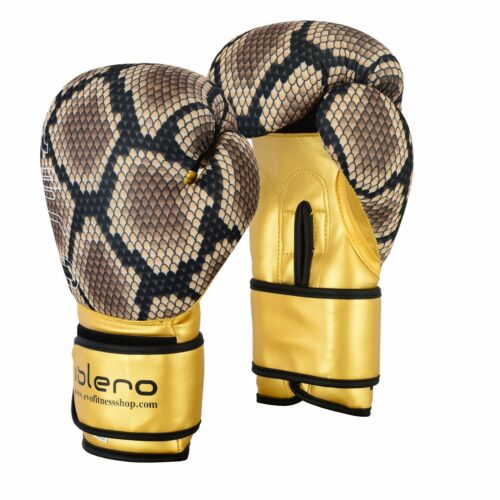 Evo Fitness Boxing Gloves: ISLERO Kick Boxing GEL Gloves MMA Punch Bag Sparring Muay