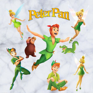 Image Is Loading Peter Pan Wall Stickers Fairy Tale 3D Decals