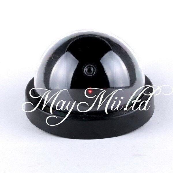 Wireless Fake Dome Camera Flashing LED Home Dummy Security CCTV Surveillance I