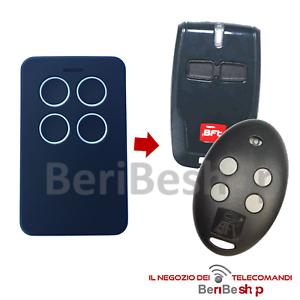 TELECOMANDO COMPATIBILE CON BFT MITTO B RCB SERIE ROLLING CODE 433,92 MHZ