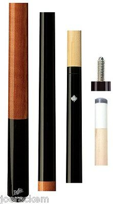 NEW Dufferin D-233 No Wrap D233 Midnight Black Canadian Maple Pool Cue