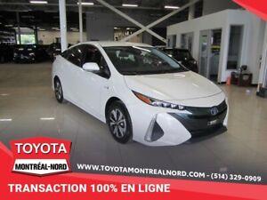 2017 Toyota Prius Prime HYBRIDE BRANCHABLE/GPS/SIEGES CHAUFFANTS