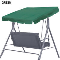 Patio Outdoor 73x52 Swing Canopy Replacement Porch Top Cover Seat Furniture