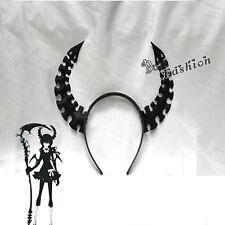 Horn Hairpin Black Rock Shooter 2 Anime Cosplay Headband Hair Accessory