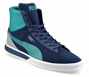 90ac0c2ff470 Mens Puma Future Mid Ankle Boots Hi Tops Skate Basketball Trainers ...