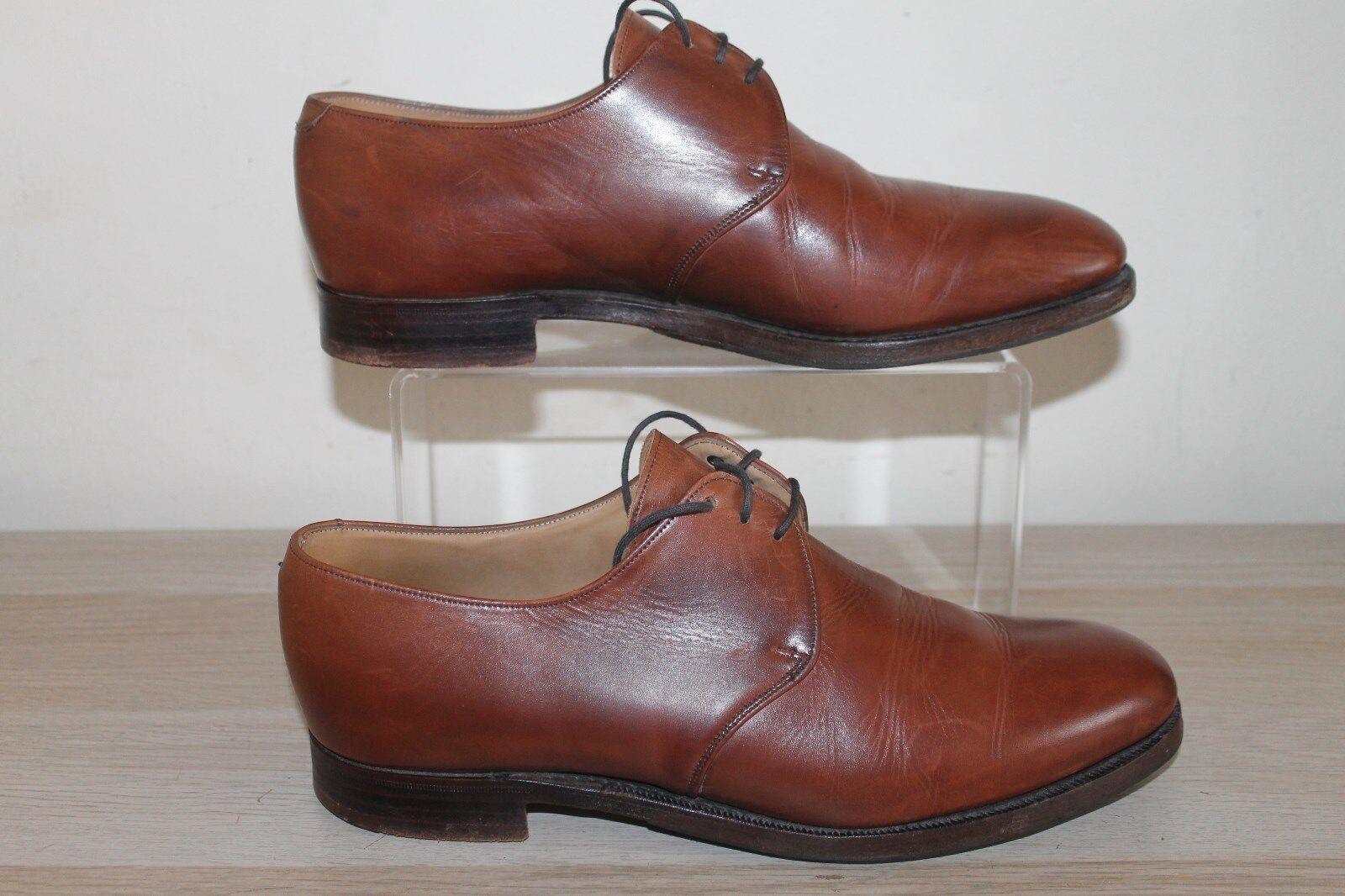 Shipton and Braun Heneage   Herren Braun and Leder Lace Up Schuhes Größe 8 - may18 772947