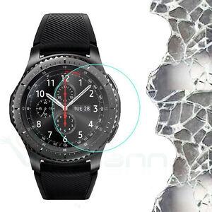Pellicola VETRO temperato trasparente display per Samsung Galaxy Gear S3 M3C0