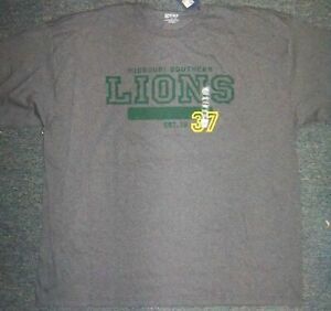 a807e191 Details about Gear for Sports Mens Dark Grey Missouri Southern Lions T  Shirt 3XL NWT