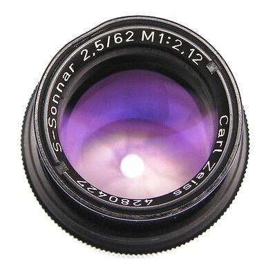 Carl Zeiss 62mm f2.5 S-Sonnar M 1:2.12    #4280427