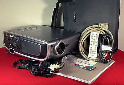 Bulb Only Original Ushio Projector Lamp Replacement for Canon REALiS SX60
