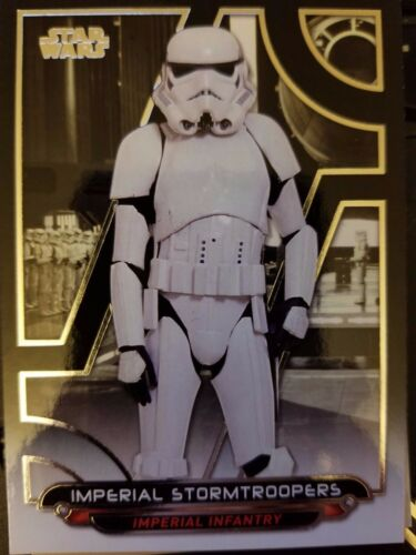 2017 Star Wars Galactic Files Reborn #ANH-3 Imperial Stormtroopers NrMint-Mint