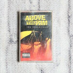 Above The Rim Soundtrack Cassette Tape 1994 Death Row Records Gangster Rap