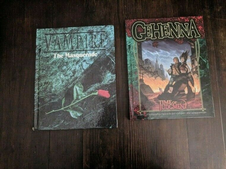 Book TIME OF JUDGMENT Gehenna Vampire  The Masquerade ww white wolf 2002 core ru