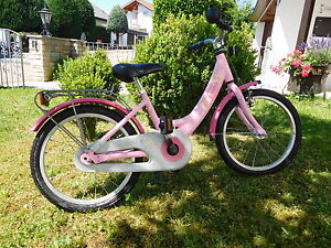puky m dchenfahrrad prinzessin lillifee 18 zoll rosa ebay. Black Bedroom Furniture Sets. Home Design Ideas