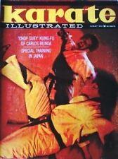 8/70 KARATE ILLUSTRATED RON MARCHINI CARLOS BUNDA BLACK BELT KUNG FU MARTIAL ART