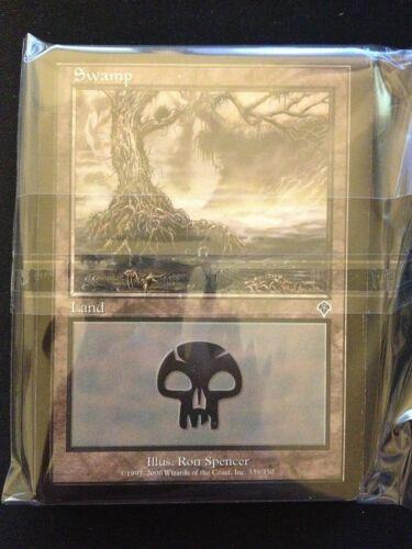 MP-NM SAME ART Invasion Magic MTG FTG Swamp 20 Basic Land #339