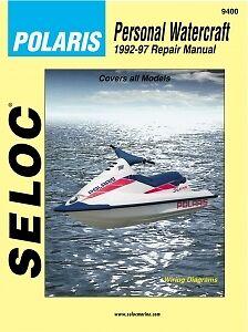 Seloc 9400 Repair Manual For Polaris Pwc Engine 1992 97 650 1050 Series Ebay
