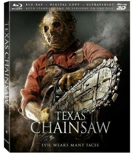 TEXAS CHAINSAW - TEXAS CHAINSAW (+BLURAY) (3D) NEW BLURAY