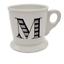 miniature 1 - Anthropologie-M-Monogram-Mug-Initial-Letter-Coffee-Cup-Shaving-Stoneware