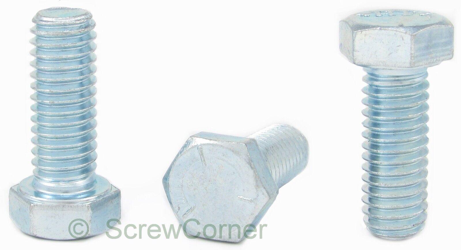Sechskantschraube 3/4-10 UNC x 2 Grd. 5 verzinkt (8.8) - Hexagon Tab Bolt