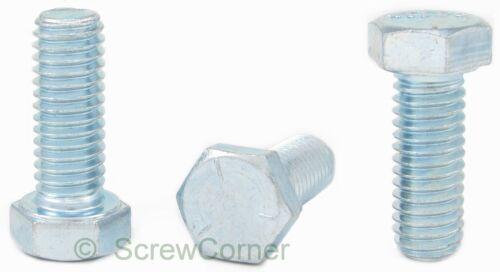 Boulon à tête hexagonale 9//16-12 unc x 1 1//2 GRD - heaxgon tab Bolt 8.8 5 galvanisé