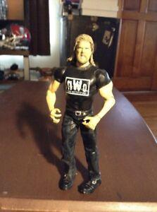 WWE MATTEL ELITE NWO SHIRT WHITE AND BLACK