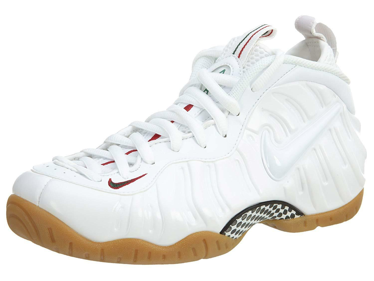 Nike MENS Air Foamposite Pro - 624041 007 white SOLD OUT LIMITED SIZE 7.5 US M