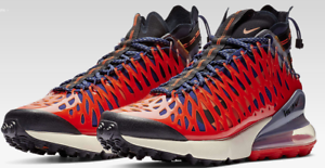 Nike AIR MAX 270 ISPA Terra orange bluee Void BQ1918-400 Mens US SIZE 11
