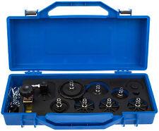 Druckluft Werkzeug Set Adpater Satz 9-tlg. Kfz Entlüftungsgerät Bremsenentlüfter