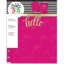 Happy Planner Covers Pink Hello Life Snap In Planner Cover