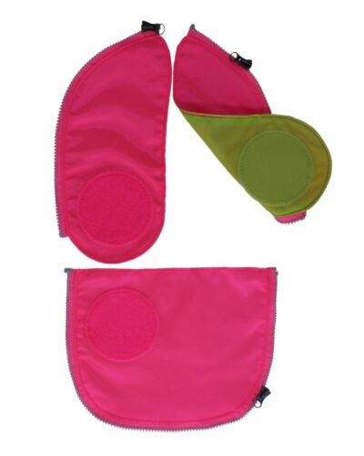 ERGOBAG Safety Set 3 Pezzi Accessori Borsa Rosa Pink Nuovo