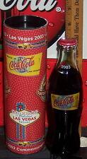 2003 WORLD OF COCA COLA LAS VEGAS 2003  8 OUNCE GLASS COCA COLA BOTTLE & TUBE