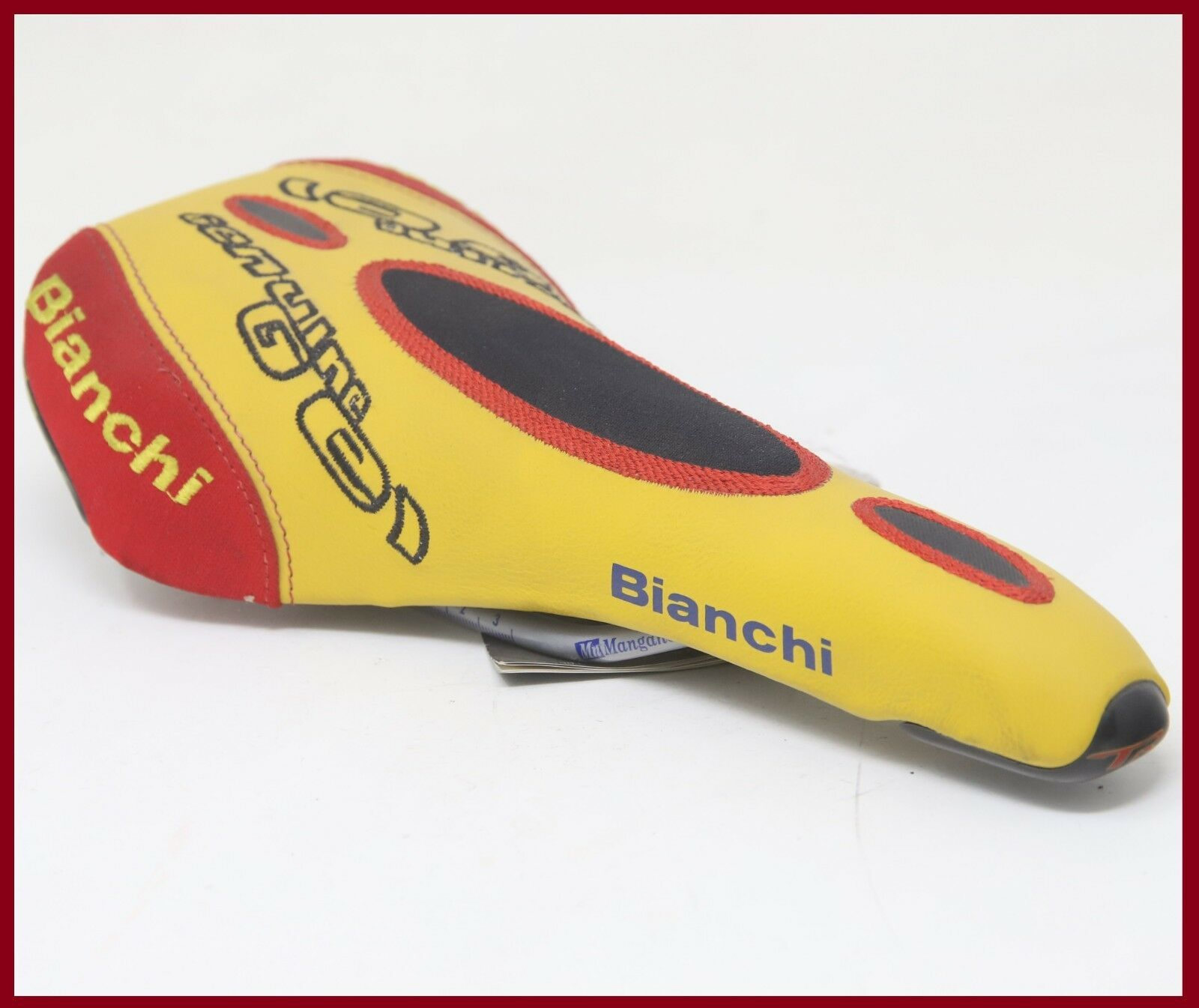 NOS  BIAN  TRIMATIC SELLE ITALIA SADDLE VINTAGE SEAT ROAD RACING BIKE BICYCLE  discount store