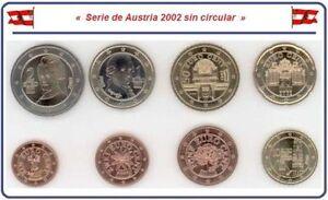 Serie-de-Austria-2002-Sin-Circular-8-valores