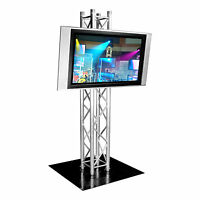 Global Truss 6.56ft Truss Plasma Stand / Lighting Tower With Steel Base Plate on Sale
