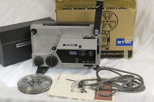 Cinekon-Instduo-Movie-Film-Projector-Super-8-and-standard-8mm-with-Accesories