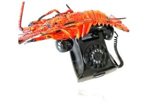 Telephone-BAKELITE-Rotary-SPINY-LOBSTER-RARE-amp-LIMITED-VINTAGE-Collectible