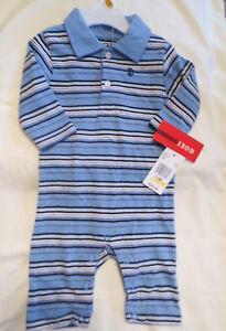 IZOD Baby Toddler Boy 3 Piece Polo Sweater Vest Shorts Blue 12-24 MO NEW